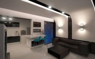 Гостиная 40 кв м дизайн