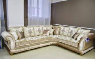 Размер углового дивана стандарт