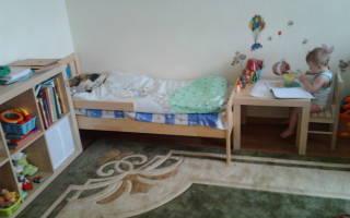 Оформление детского уголка в однокомнатной квартире