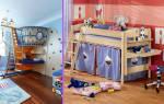 Как отгородить детскую зону в однокомнатной квартире