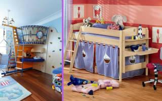 Как обустроить детский уголок в однокомнатной квартире