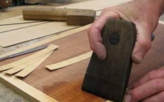 Как отреставрировать шпонированную мебель?