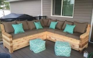 Как сделать самодельный диван?