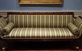 Замена обивки дивана своими руками