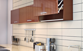 Как снять дверцы кухонного шкафа?