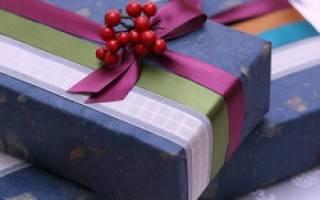 Как красиво обернуть коробку подарочной бумагой