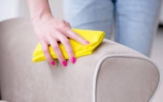 Чем очистить подлокотник дивана?