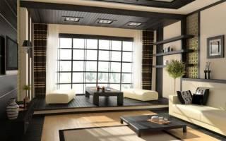 Восточный дизайн гостиной