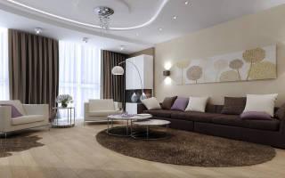 Дизайн большой гостиной в доме