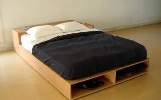 Кровать подиум своими руками пошагово