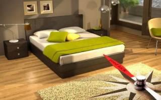 Как правильно расположить изголовье кровати?