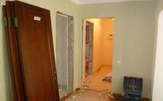 Как демонтировать межкомнатную дверь?
