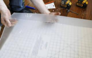 Как резать оргстекло в домашних условиях
