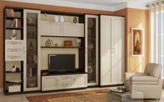 Дизайн гостиной 4 на 5