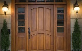 Как правильно выбрать деревянную дверь?