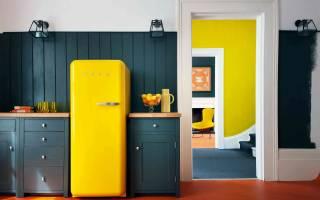 Как декорировать старый холодильник