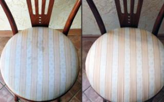 Как почистить обивку кресла в домашних условиях?