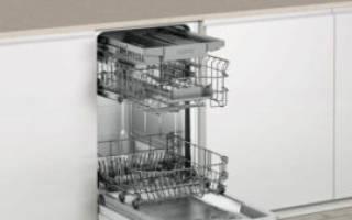Как выбрать посудомоечную машину встраиваемую 45 см