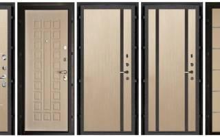 Обшивка двери МДФ панелями своими руками