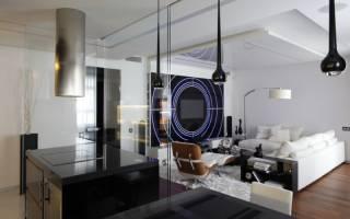 Гостиная хай тек фото дизайн