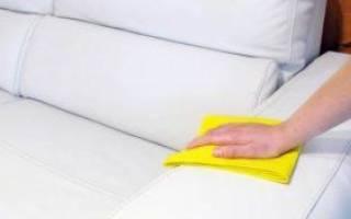 Как ухаживать за кожаным диваном