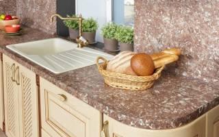 Какой толщины должна быть столешница на кухне?