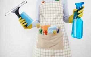 Чем вымыть пластиковую дверь?