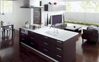 Гостиная кухня дизайн фото 36 кв