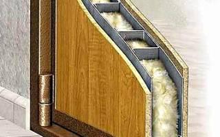 Какая шумоизоляция лучше для входной двери?