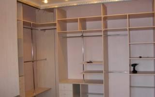 Как сделать встроенную мебель?