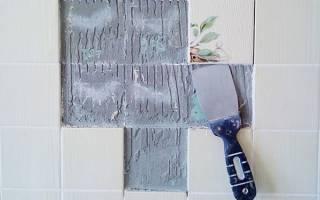 Как удалить старую плитку со стены