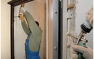 Как поправить просевшую дверь?