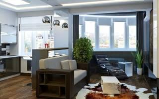 Дизайн гостинной студии