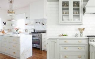 Как выбрать ручки для кухонного гарнитура