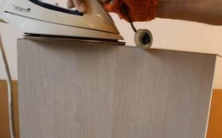 Как заламинировать мебель?