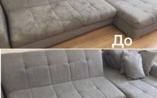 Как избавиться от разводов на диване