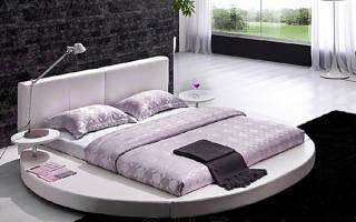 Удобна ли круглая кровать?