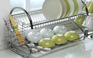 Как выбрать сушилку для посуды в шкаф?