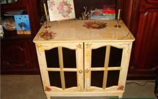 Как можно реставрировать старую мебель?