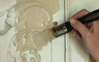 Как покрасить дверцы кухни?
