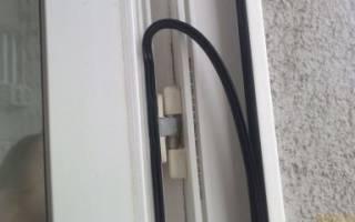 Как поменять уплотнитель на пластиковой двери?