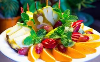 Как оформить фрукты на детский день рождения