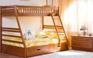 Сделать двухъярусную кровать своими руками варианты