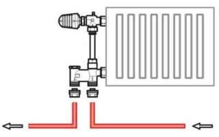 Как правильно запитать батареи отопления