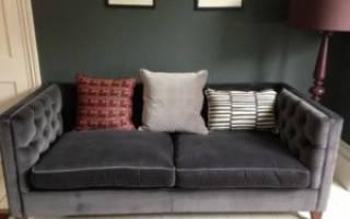 Как почистить велюровый диван?