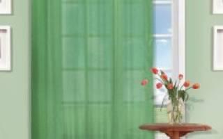 Как рассчитать количество тюли на окно