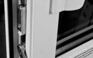 Как устроена пластиковая балконная дверь?
