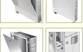 Шкаф для коллектора теплого пола размеры