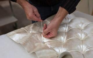 Как заменить обшивку дивана?