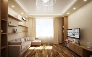 Дизайн гостиной 19 м фото